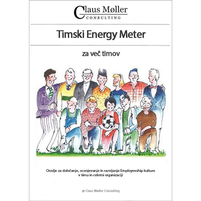 Timski Energy Meter za več timov