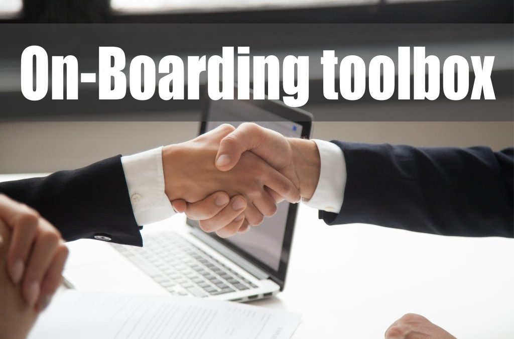 CMC's On-boarding tool